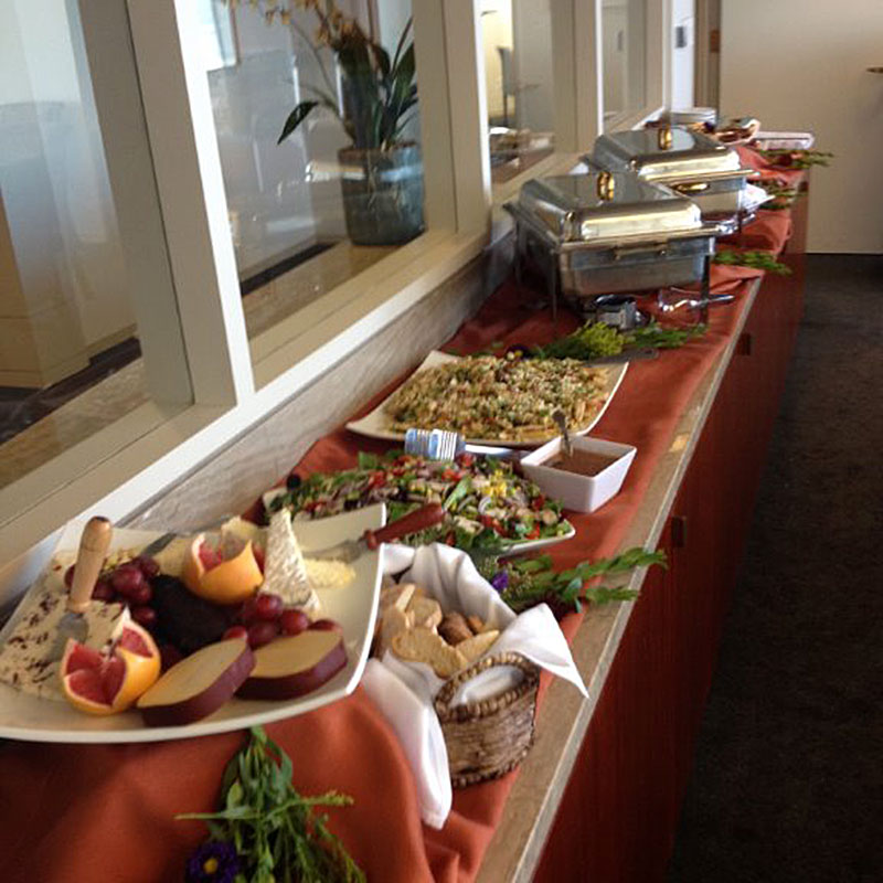 Catered Corporate Lunch